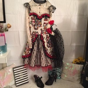 Day of the Dead Dress Gorgeous high End made!